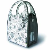 Basil Jada Mirte-Shopper Bike Bag - 35x15x30 (cm), 16L, Marble Gray