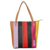 [Cocktail Temptation] Onitiva Leatherette Double Handle Satchel Bag Handbag Purse