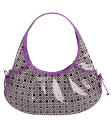 Vera Bradley Frill Collection - Tied Together Hobo Bag - Simply Violet