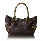 zen 3 100 b Mari Woven Bag - Brown- Bronze