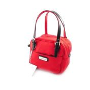"""Canvas bag """"Jacques Esterel"""" poppy red."""