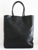 Soft Genuine Leather Basic Tote, Everyday bag - Unisex