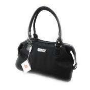 """Canvas bag """"Jacques Esterel"""" black."""