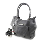 "Canvas bag ""Jacques Esterel"" gray."