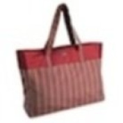 Della Q Agnes Extra Large Knitting Tote Red