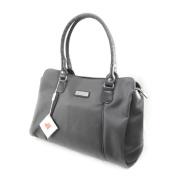 "Canvas bag ""Jacques Esterel"" gray."