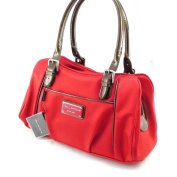 "Bag ""Ted Lapidus"" poppy red."