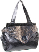 BCBGeneration Charlie Satchel,Black,One Size