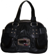 Women's Guess Purse Handbag Kym Black