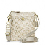 Coach Waverly Snow Queen Swingpack Purse 48673
