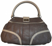Women's Guess Purse Handbag Kissa Taupe Multi