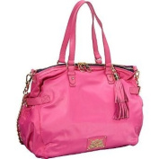 Juicy Couture Easy Everyday Nylon Lauryn Tote Bag Yhru3347 Bright Pink