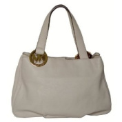 Michael Kors Fulton Brown Leather Tote Bag