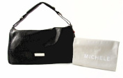 MICHELE Collins Flap Black Handbag
