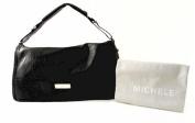 MICHELE Collins Flap Black Handbag