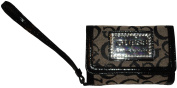 Women's Guess iPhone Wristlet ID Holder Taluca Black