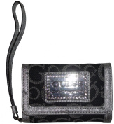 Women's Guess iPhone Wristlet ID Holder Taluca Denim