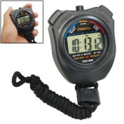 Como Digital Chronograph Sports Stopwatch with Neck Strap