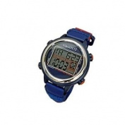 VibraLITE 12 Vibrating Watch with Red & Blue Band 12 Alarms