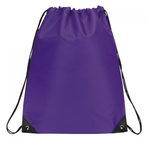 ... about Drawstring Backpack Bookpack Bag, Purple by BAGS FOR LESSTM