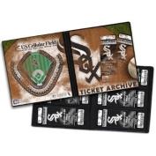 Chicago White Sox Ticket Album, Holds 96 Tickets