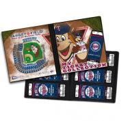 That's My Ticket MLB Mascot Ticket Album, 20cm - 0.6cm x 20cm - 1.9cm , Minnesota Twins, T.C. Bear