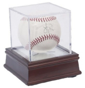 BallQube Grandstand Baseball Holder Display Case and Stand