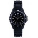 Reflex Black Silcone Strap Unisex Sports Watch SR001