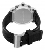 Burberry Men's BU2300 Trench Chronograph White Chronograph Dial Watch