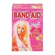 Johnson & Johnson Band-Aid Barbie Children's Adhesive Bandages - 25 Count