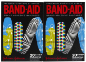 Band-Aid Decorated, Assorted 20 Count, Colours and Styles May Vary