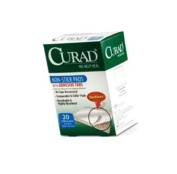 Curad Curad Non-Stick Pads With Adhesive Tabs
