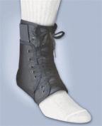 Fla orthopaedics Inner lok 8 ankle brace lace up, Black, Medium (men