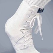 MCDAVID ANKLE GUARD WITH OPTIONAL PLASTIC INSERTS Size