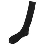 Prestige Medical Long Nurse Compression Socks, Black