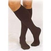 Truform 1943, Men's Dress Style Compression Socks, 15-20 mmHg, Knee High, Brown, Large