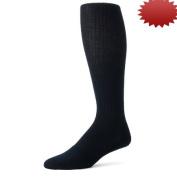 Truform 1933, Men's Cushion Foot Compression Socks, 15-20 mmHg, Navy, Small