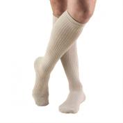 Truform 1933, Men's Cushion Foot Compression Socks, 15-20 mmHg, Tan, X-Large