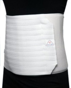 ITA-MED Breathable Elastic Abdominal Support Binder for Women (12 Wide) - Large