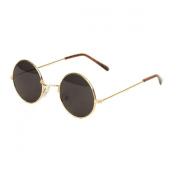 UB John Lennon Style Sunglass - Gold Smoke