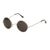 UB John Lennon Style Sunglass - Silver Smoke