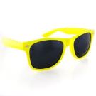 Classic Wayfarers - Yellow Frame/ Black Lens