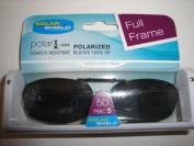 Solar Shield Polarised Clip on Sunglasses full frame size 50 REC 5