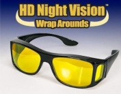 HD Night Optics Wraparound Glasses - As Seen on TV