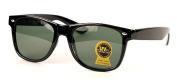 Wayfarer Sunglasses Classic Vintage Black Smoke Lens Dark