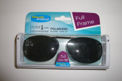 Solar Shield 54Rec12 full frame Grey lens Polarised Clip On Sunglasses