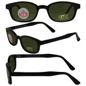 Original KD's Biker Motorcycle Sunglasses Various Coloured Lenses Select Basic Lens Colour