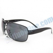 HOTLOVE Premium Sunglasses F1869BKBK UV400 Lens Technology - Men Sunglasses F1869 Black Metal , Light Weight frame - Trendy Fashion Everyday Apparel for Women & Men