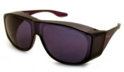 Solar Shield Fits-Over Sunglasses - SS Polycarbonate II Smoke / SOLAR SHIELD II SMOKE POLYCARBONATE LENSES-29003SMOKE