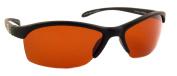 Sea Striker Wave Runner Polarised Sunglasses with Black Frame and Vermillion Lens